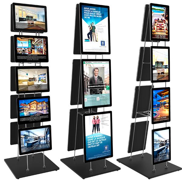 VM MobileStand EasyClip als Paket inkl. Displays